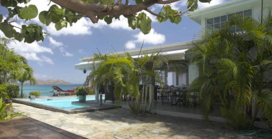 Studio in beautiful house/ Toiny - Gustavia - House
