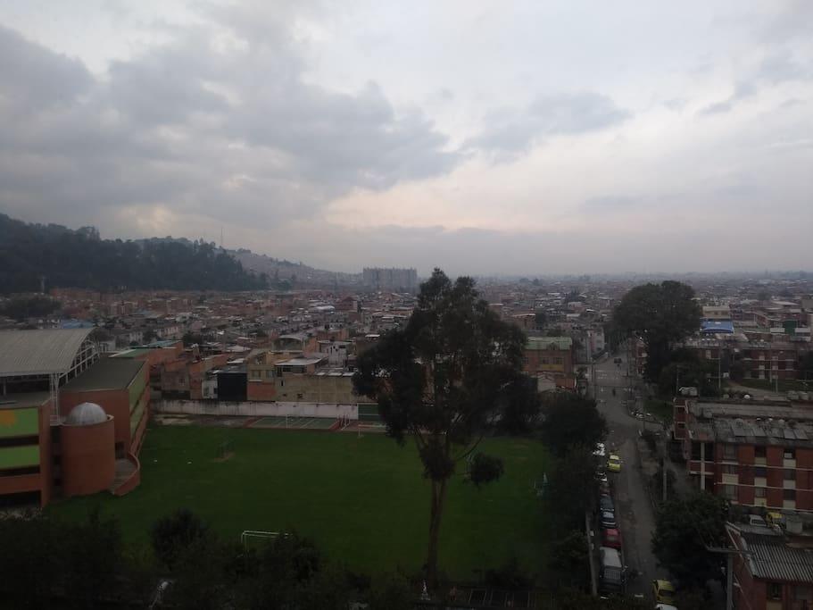 vista  d l balcón