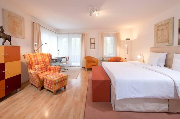 Ferienwohnung/App. für 3 Gäste mit 34m² in Arnstadt (72782)