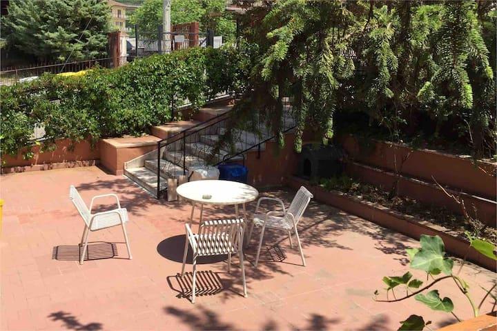 Appartamento indipendente con giardino a San Sisto