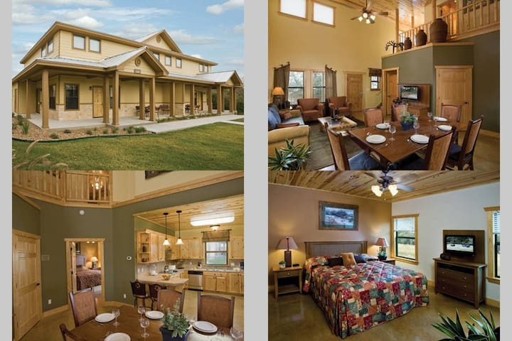 New Braunfels 3 Bedroom Deluxe Condo Resort