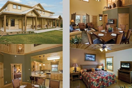 3 Bedroom Deluxe Wyndham New Braunfels, TX - ニューブラウンフェルズ