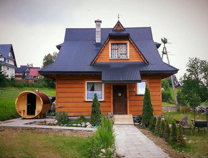 Domek pod Kogutkiem w Tatrach