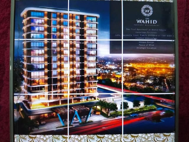 The Wahid Private Residences / Apartment In Medan