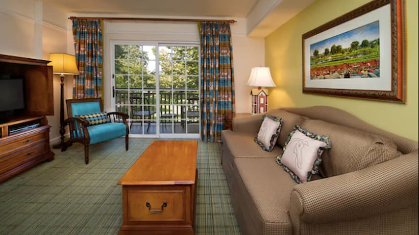 Disney Saratoga Springs Resort, 1-bedroom