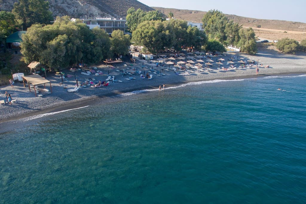 beach area (agios fokas beach club)
