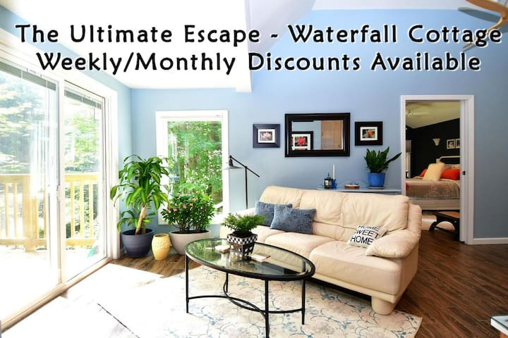 Escape by a Waterfall - Extended Stay Discounts