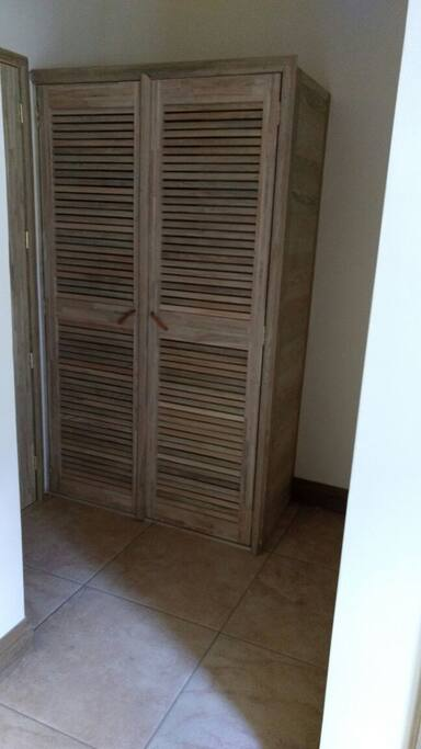 Cada dormitorio con Closet disponible