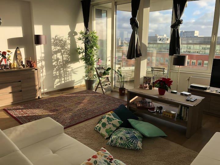 High floor Modern Apartment in Amsterdam