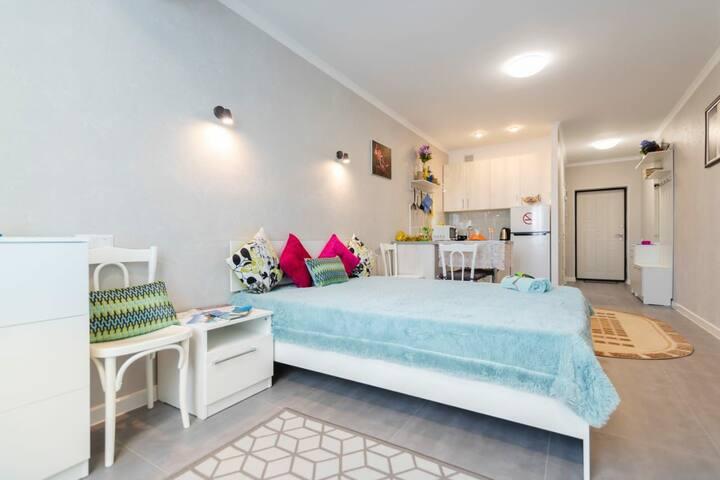 1 комнатная квартира в ЖК Молодёжный 201