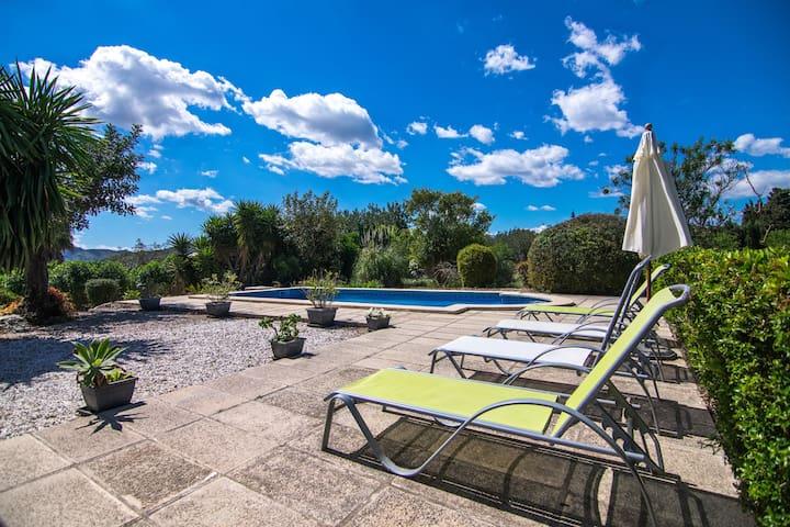 Villa near Pollensa, quiet location &private pool