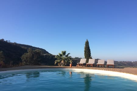 Chill out in a natural atmosphere with luxury pool