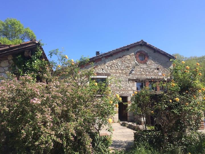 Maison Gasconne en pierre