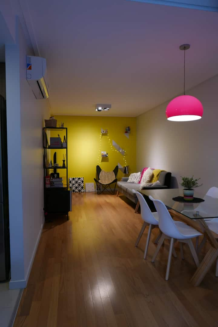 Comfy and cool apt near Palermo