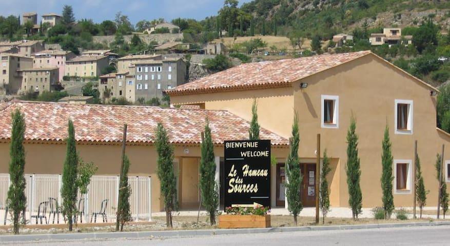 Escale en Drôme Provençale - Montbrun-les-Bains - Apartment
