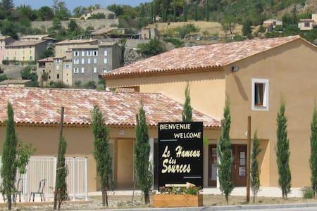 Escale en Drôme Provençale - Montbrun-les-Bains - Wohnung