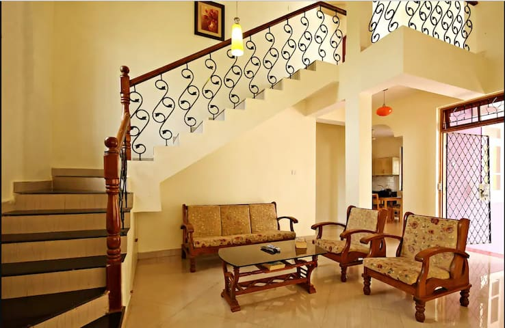 Colva Beach Peaceful 3BHK Villa