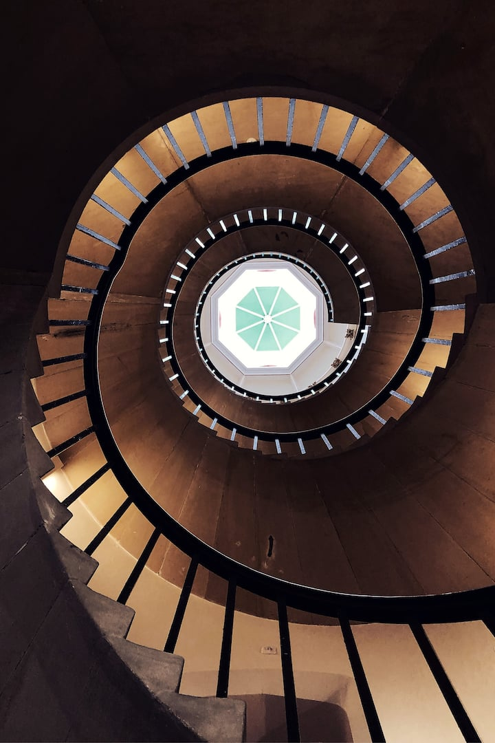 Spiral  Staircase in Cambridge