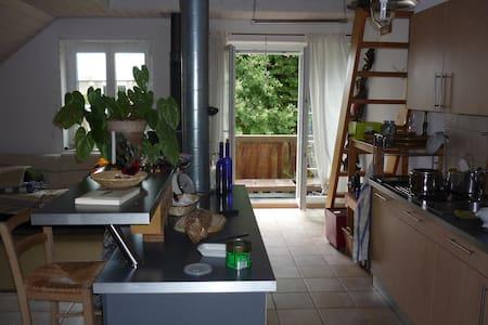 Chambre privée dans une colocation - Chavannes-près-Renens - Leilighet
