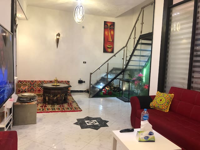 ✔Renovated duplex studio Clean & Quiet in Zamalek♥