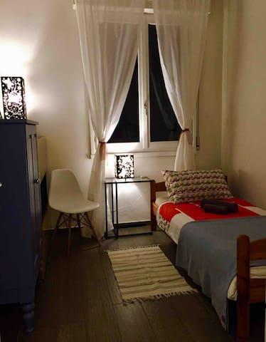Private bedroom/camera singola - Parco Amendola,