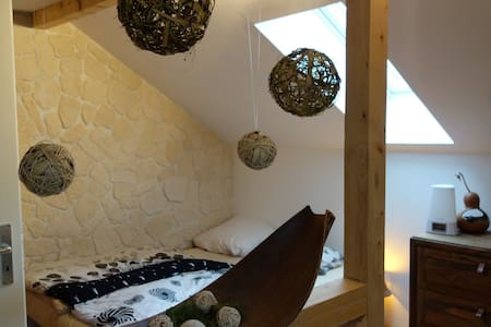 Big cosy attic room in Augsburg (near Munich) - Augsburg