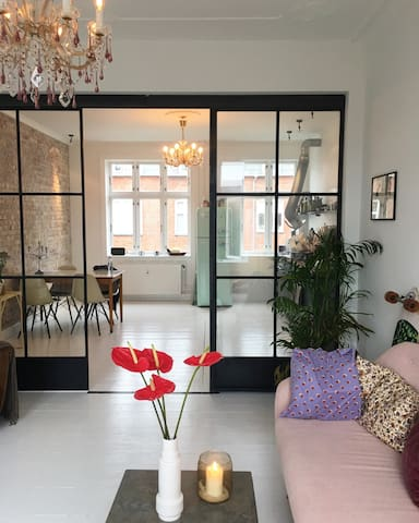 Lovely apartment in the heart of Hellerup