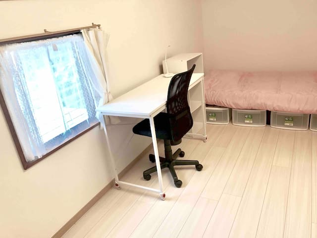 Room102 for woman. 30 min to Shinjuku station