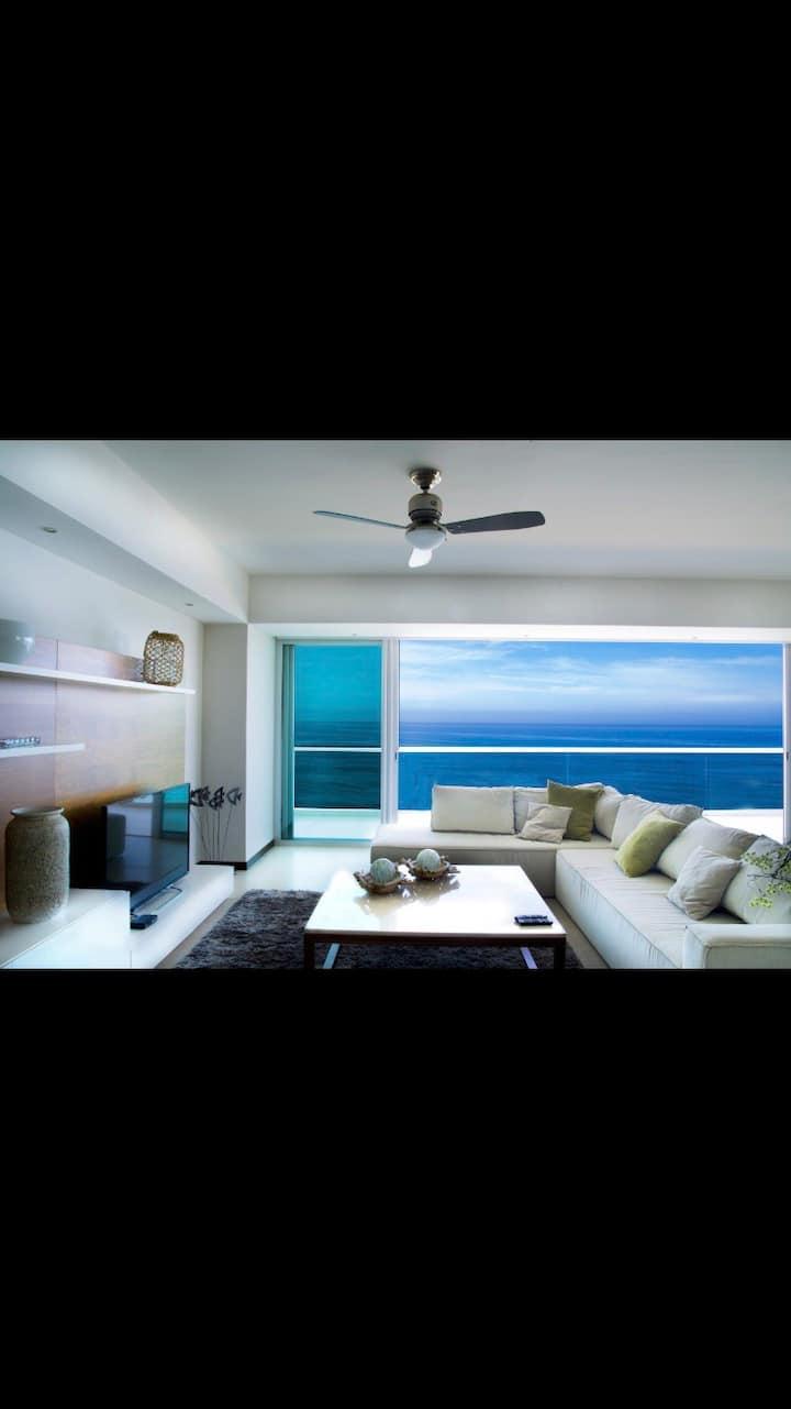 Apartamento de súper lujo , Peninsula Mazatlan ..