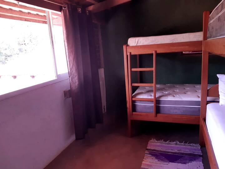 Espaço da Villa-São Jorge- Mezanino - 4 camas