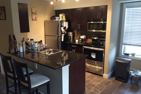 Northside Private Room & Bathroom - Edmonton - Wohnung