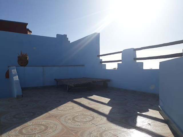 Haus am Meer in Sidi Rbat