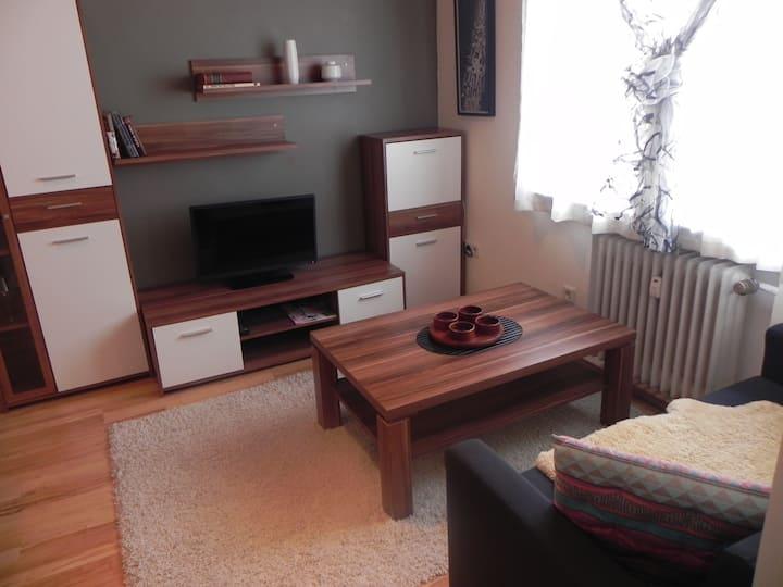 Apartment in Troisdorf 2 Zimmer, Dusche