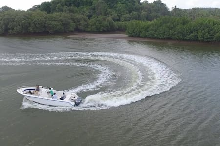 Relax on a luxury boat and ride - North Goa - Boat