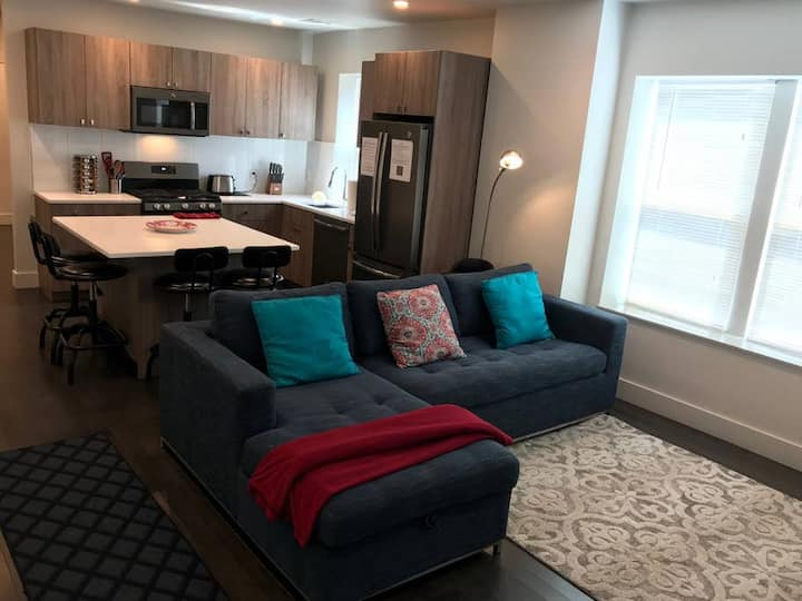 The Washington 3 North OrangeLine | Queen bed with lots of light | Forest Hills and Faulkner on OrangeLine!