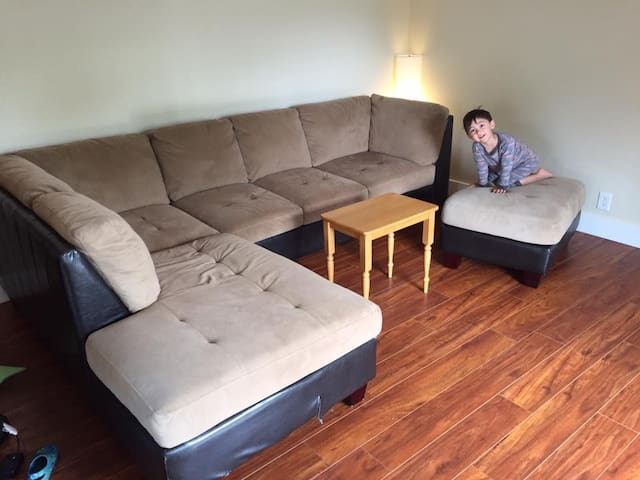 Couch to sleep on in Lafayette for victims of fire