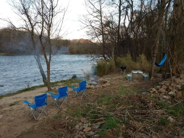 Paddlers Delight at Laughing Waters Campground