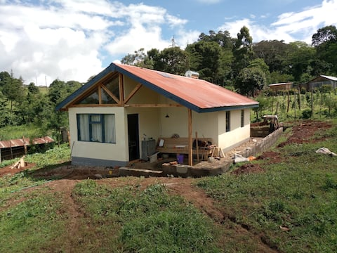Private house on unique plot with Rift Valley view