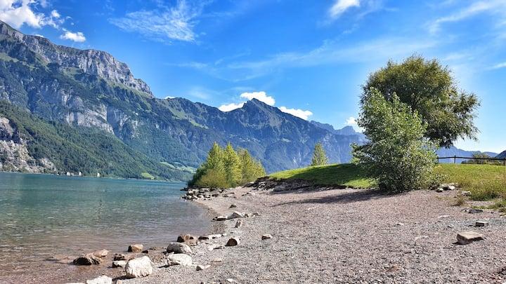 💎-blauer See, Wellness & Berge.. Enjoy it ;)