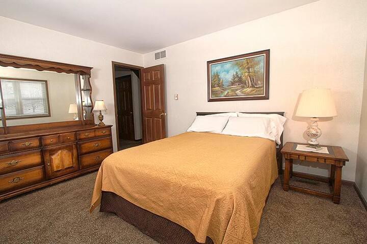 Main Floor Master Bedroom, #1 of 4 Bedrooms