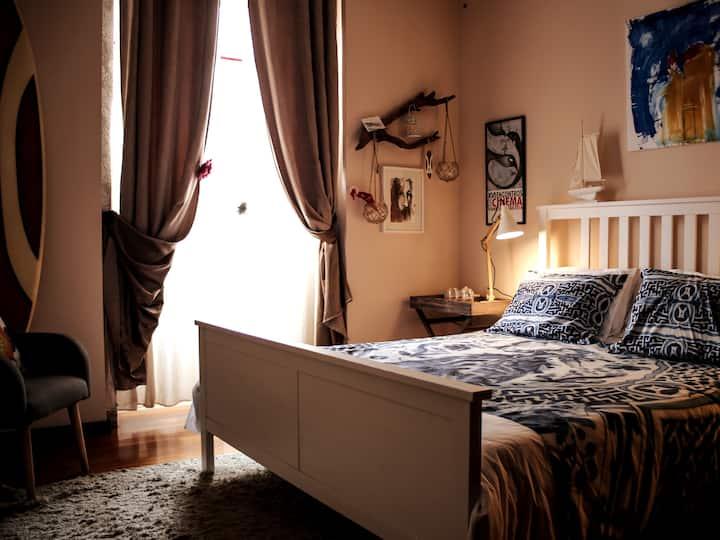Room in a quite village
