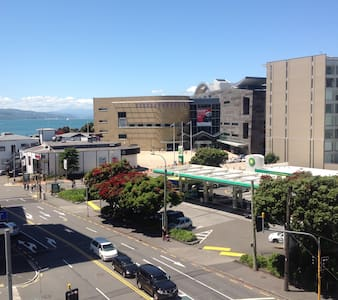 Water front & Te Papa a minute away. - Wellington