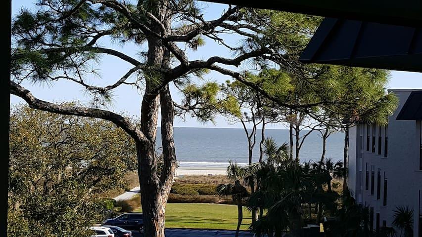 Oceanview Seaside Villa, Steps to the Beach - Hilton Head Island - Casa de campo