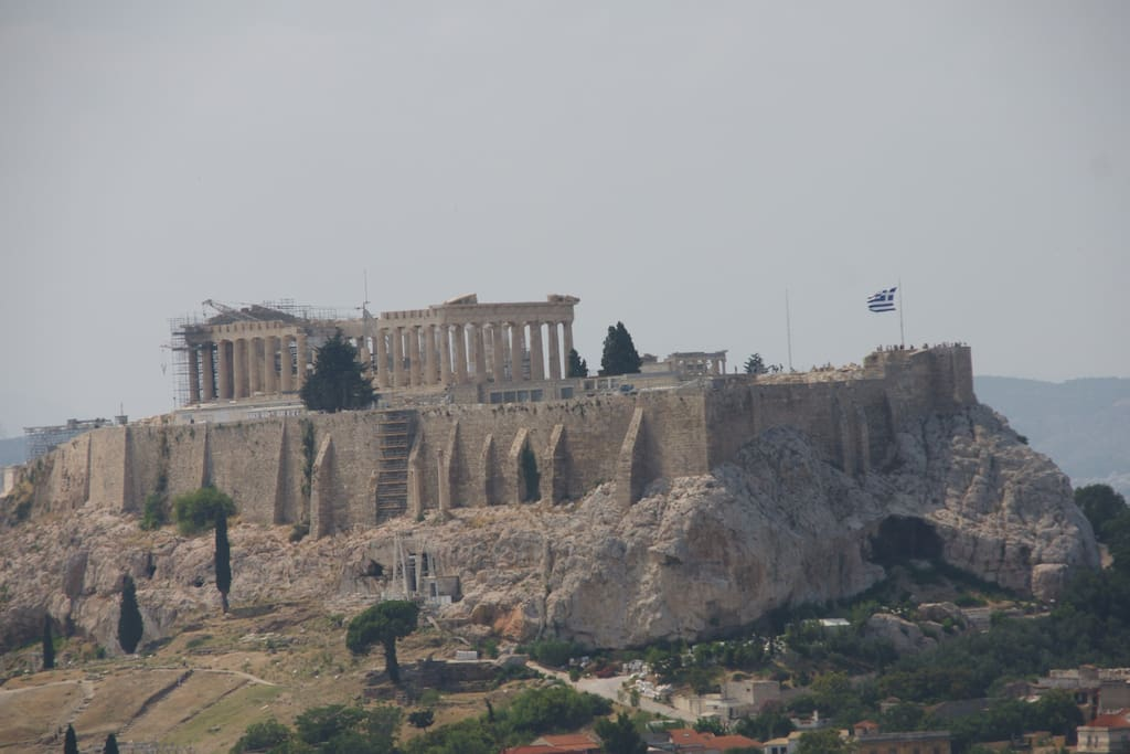 Akropolis, view from the terrace