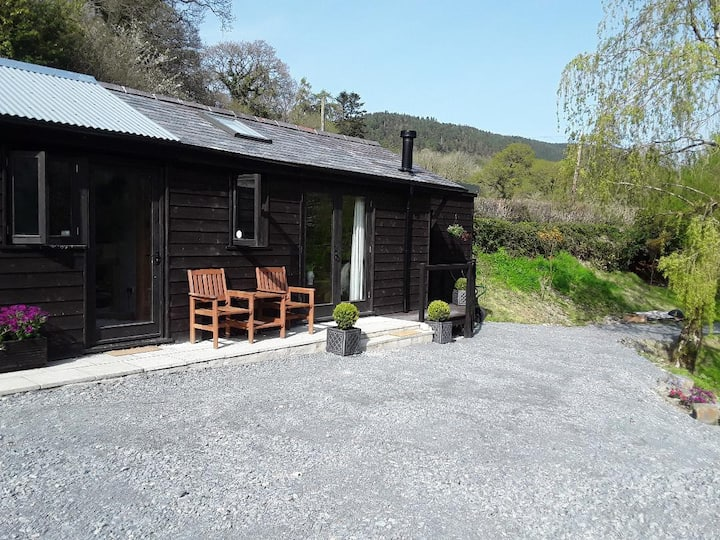 Riverside lodge Ystwyth Valley, Cambrian Mountains