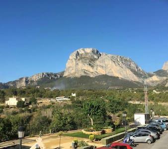 Stunning mountain views#Min 1 week# - Xirles,  Near Polop de la Marina, - Apartament