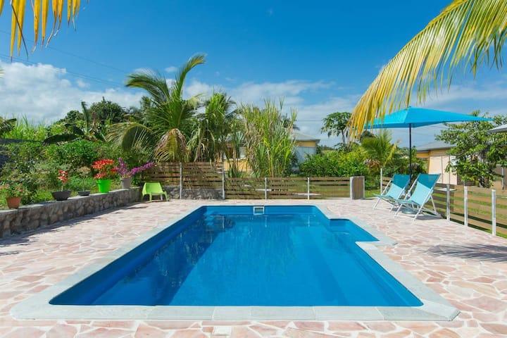 Villa Jasmin avec piscine