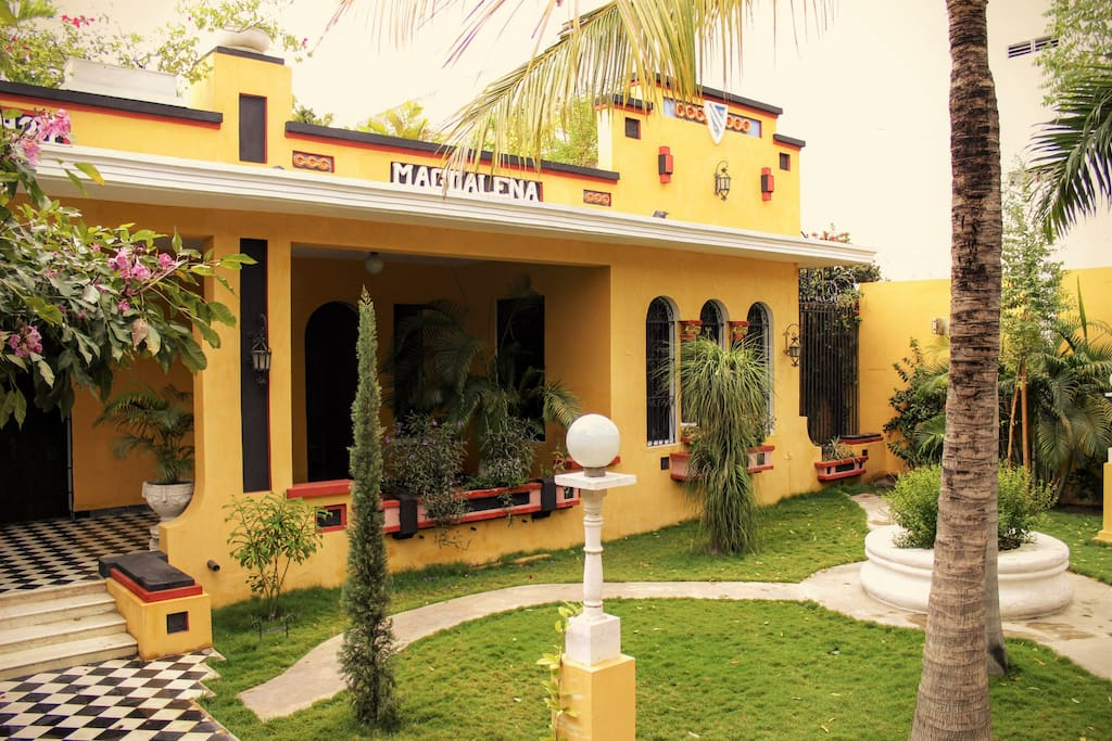 "The ""casa Magdalena"" is a traditional republican house built in 1924"
