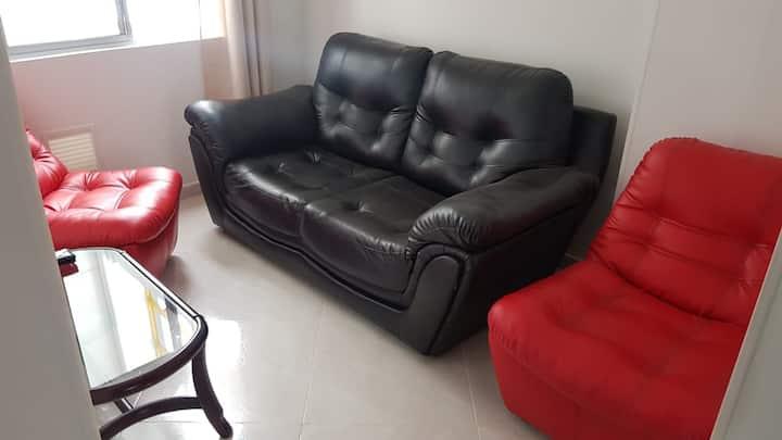 Acogedor y cómodo apartamento, ubicación céntrica.