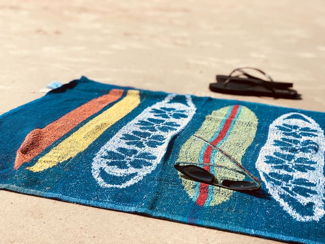 you can use beach towels